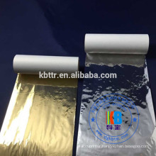 Shiny Gold silver color thermal printer ribbon for zebra Datamax barcode printer