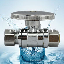 Brass Electroplating Chromium Mini Ball Angle Valve lead free
