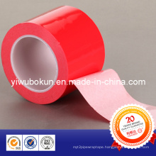 Vhb White Double Side Foam Tape with Red Release PE Film