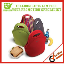 Werbungs-kundenspezifischer Logo-Druck isolierte Mittagessen-Tasche