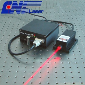 635nm 200mW Red Laser Para Optogenética