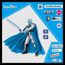 Arma de brinquedo da bateria com máscara de espadas de brinquedo à venda