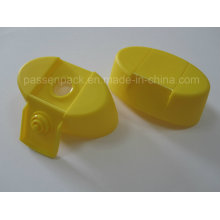 Oval Plastic Screw Cap with Cross Shape Silicone Valve (PPC-PSVC-012)