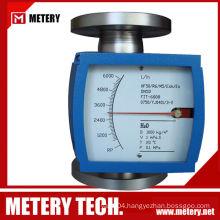 Oil flow gauge indicator meter
