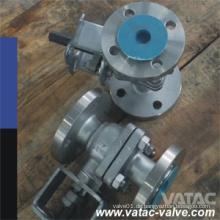 Flansch RF oder Rtj Wcb, Wcc, Lcb, Lcc Kugelhahn mit Druck 150lb, 300lb und 600lb