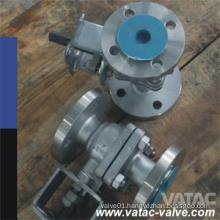 Flanged RF or Rtj Wcb, Wcc, Lcb, Lcc Ball Valve with Pressure 150lb, 300lb and 600lb