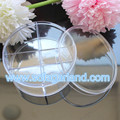 4.8*10 CM Clean Round Plastics Storage Boxes For Jewelry Findings