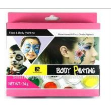 UV nicht giftig wasserdicht sicher Spray Sport Fan Gesicht Körperfarbe