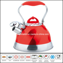 High Quality Color Whistle Kettle Cookware