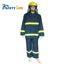 CE approved aramid fire firefighter suit