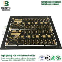 4-layers Multilayer PCB FR4 Tg150 ENIG 3U