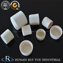 99,5 высокой чистоты % глинозема передовых керамики цилиндрических огнеупорных тигель
