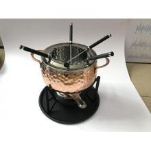 China Cheap Ceramic Cheese Chocolate Fondue Set