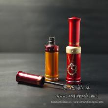 Aluminio tubo cosmético Eyeliner de color