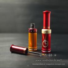 Tubo cosméticos delineador de cor de alumínio
