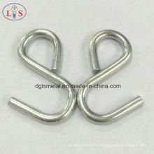 Crochet de type S / crochet personnalisé avec haute qualité