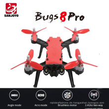 Professionelle 2,4G Brushless Drohne MJX Bugs 8 PRO High Speed Racing RC Drone Höhe halten Hubschrauber mit 3D Flips VS MJX Bugs 8
