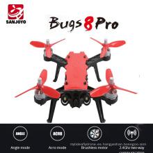 Profesional 2.4G Drone sin escobillas MJX Bugs 8 PRO Helicóptero de alta velocidad Racing rc Drone Altitude hold Con 3D Flips VS MJX Bugs 8