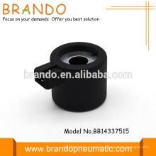 Válvula solenoide de plástico de bobina de alta calidad