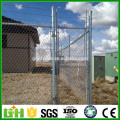 2016 hot sale galvanized chain link fence