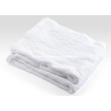 Woven Herringbone Weave Pure Cotton Blanket