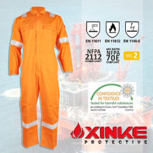Cotton nylon fire fighting coverall for safety/protective clothing/garments/workwear
