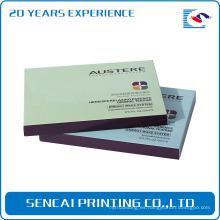 Caja de regalo de papel cosmética del regalo del papel de impresión lleno del 100% fabricante / cosmético