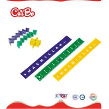 Règle pliable en plastique, règle de bureau (CB-ED007-S)