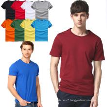 2017 Wholesale Men Cotton T-Shirts Fashion Fitness Tee Shirts