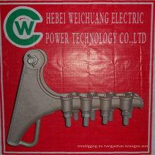 abrazadera de tensión galvanizada en caliente para OPGW