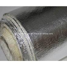 Tela tejida de fibra de vidrio con radiación laminada de aluminio