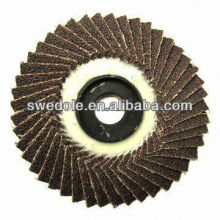 non-woven abrasive cloth flap disc