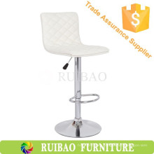 Bar Muebles Uso General y Material de Cuero Gas Lift Taburete de Barra Ajustable