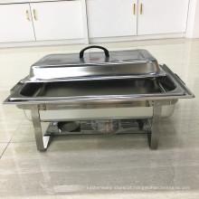 Aquecedor de aço inoxidável dos sedimentos dos mercadorias do restaurante grande / aquecedor do bufete do alimento