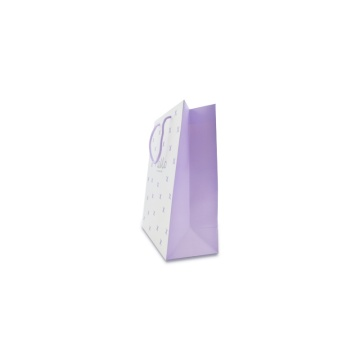 Colorful coated paper shopping bag
