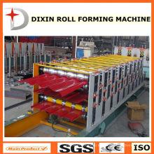 Rodillo de hoja de techos de tres capas que forma la máquina
