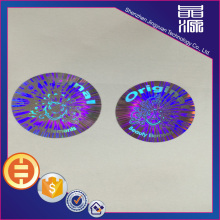 Tamper Proof Holographic Security Label Sticker
