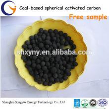 granulés charbon actif pour la purification de l'eau / charbon actif sphérique