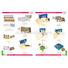 Juguete del jardín de la infancia para los niños, juguete de los niños, niños educativos juegan al por mayor