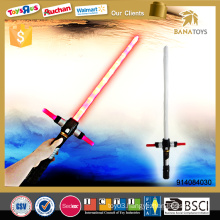 Telescopic cosplay laser sword with sound