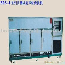 máquina da limpeza ultra-sônica de quatro tanques