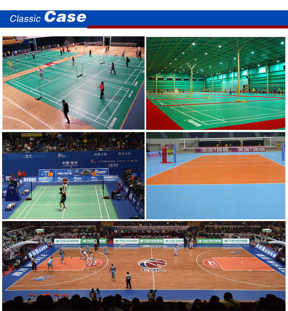 indoor basketball court surface flooring