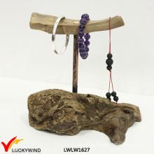Support de bijoux en bois chic et minable