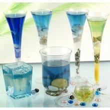 Vela de gel de decoração personalizada