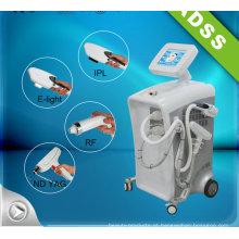 IPL RF ND YAG laser cabelo Emoval e máquina de remoção de tatuagem
