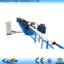 Color steel water downspout roll forming machine