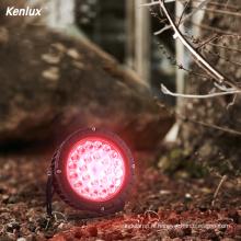 Lumière de jardin LED à changement de couleur automatique RVB
