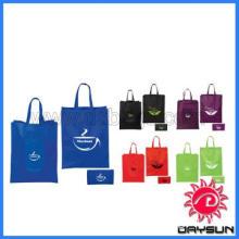 Non-woven foldable reusable tote bag