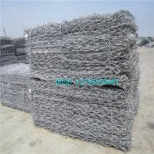 Gabion galvanizado Hot-Dipped calmo, Gabion do zinco Fabricante