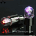 2017 colorful LED Flash Tyre Wheel Valve Cap Light for Bike